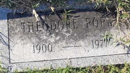 POPE, THEODORE - Pulaski County, Arkansas | THEODORE POPE - Arkansas Gravestone Photos
