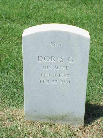 POPP, DORIS G - Pulaski County, Arkansas | DORIS G POPP - Arkansas Gravestone Photos