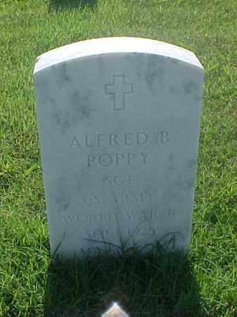 POPPY (VETERAN WWII), ALFRED B - Pulaski County, Arkansas   ALFRED B POPPY (VETERAN WWII) - Arkansas Gravestone Photos