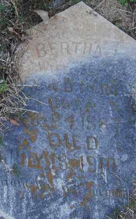 PORTER, BERTHA - Pulaski County, Arkansas | BERTHA PORTER - Arkansas Gravestone Photos