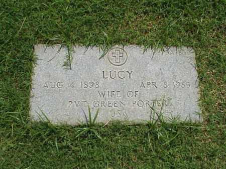 PORTER, LUCY - Pulaski County, Arkansas   LUCY PORTER - Arkansas Gravestone Photos