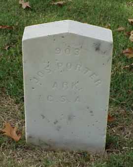 PORTER (VETERAN CSA), JOSEPH - Pulaski County, Arkansas   JOSEPH PORTER (VETERAN CSA) - Arkansas Gravestone Photos
