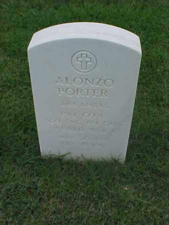 PORTER (VETERAN WWI), ALONZO - Pulaski County, Arkansas | ALONZO PORTER (VETERAN WWI) - Arkansas Gravestone Photos