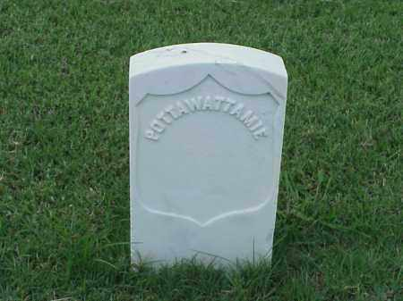 POTTAWATTAMIE (VETERAN UNION), UNKNOWN - Pulaski County, Arkansas | UNKNOWN POTTAWATTAMIE (VETERAN UNION) - Arkansas Gravestone Photos