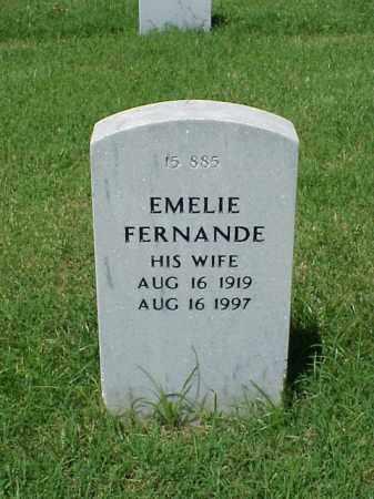 POTTORFF, EMELIE FERNANDE - Pulaski County, Arkansas | EMELIE FERNANDE POTTORFF - Arkansas Gravestone Photos