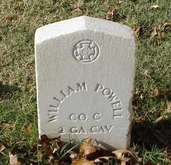 POWELL (VETERAN CSA), WILLIAM - Pulaski County, Arkansas   WILLIAM POWELL (VETERAN CSA) - Arkansas Gravestone Photos