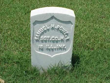 POWELL (VETERAN UNION), SAMUEL H - Pulaski County, Arkansas   SAMUEL H POWELL (VETERAN UNION) - Arkansas Gravestone Photos