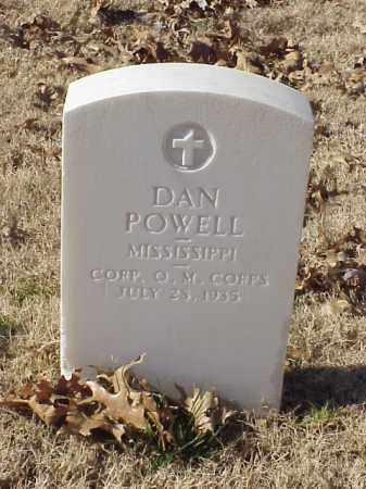 POWELL (VETERAN WWI), DAN - Pulaski County, Arkansas | DAN POWELL (VETERAN WWI) - Arkansas Gravestone Photos