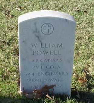 POWELL (VETERAN WWI), WILLIAM - Pulaski County, Arkansas | WILLIAM POWELL (VETERAN WWI) - Arkansas Gravestone Photos