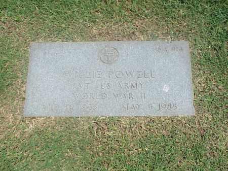 POWELL (VETERAN WWII), WILLIE - Pulaski County, Arkansas | WILLIE POWELL (VETERAN WWII) - Arkansas Gravestone Photos