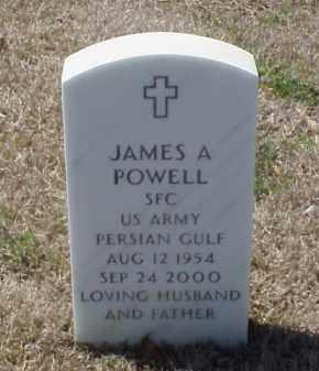 POWELL (VETERAN PGW), JAMES A - Pulaski County, Arkansas | JAMES A POWELL (VETERAN PGW) - Arkansas Gravestone Photos