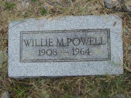 POWELL, WILLIE M. - Pulaski County, Arkansas | WILLIE M. POWELL - Arkansas Gravestone Photos