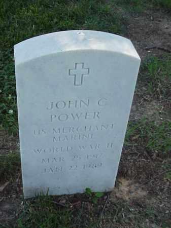 POWER (VETERAN WWII), JOHN C - Pulaski County, Arkansas | JOHN C POWER (VETERAN WWII) - Arkansas Gravestone Photos