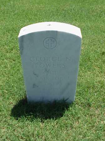 POWERS (VETERAN 2 WARS), GEORGE N - Pulaski County, Arkansas | GEORGE N POWERS (VETERAN 2 WARS) - Arkansas Gravestone Photos