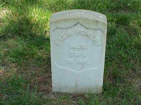 POWERS (VETERAN UNION), OREM - Pulaski County, Arkansas | OREM POWERS (VETERAN UNION) - Arkansas Gravestone Photos