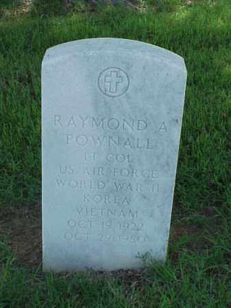 POWNALL (VETERAN 3 WARS), RAYMOND A - Pulaski County, Arkansas | RAYMOND A POWNALL (VETERAN 3 WARS) - Arkansas Gravestone Photos