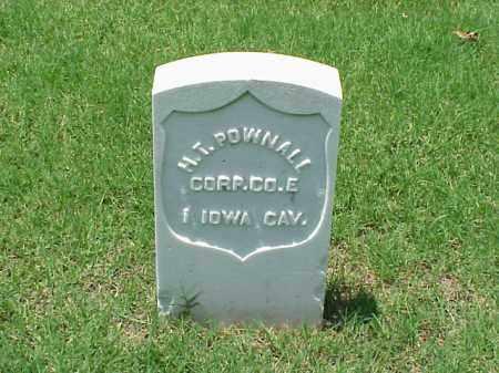 POWNALL (VETERAN UNION), H T - Pulaski County, Arkansas | H T POWNALL (VETERAN UNION) - Arkansas Gravestone Photos