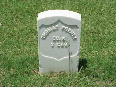 POYNTZ (VETERAN UNION), THOMAS - Pulaski County, Arkansas | THOMAS POYNTZ (VETERAN UNION) - Arkansas Gravestone Photos
