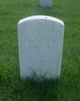 PRATT (VETERAN 3 WARS), FRANCIS W - Pulaski County, Arkansas   FRANCIS W PRATT (VETERAN 3 WARS) - Arkansas Gravestone Photos
