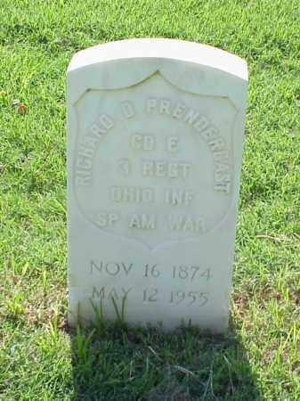 PRENDERGAST (VETERAN SAW), RICHARD D - Pulaski County, Arkansas | RICHARD D PRENDERGAST (VETERAN SAW) - Arkansas Gravestone Photos