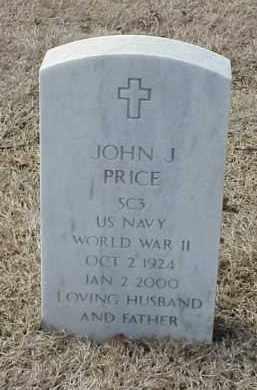 PRICE  (VETERAN  WWII), JOHN J - Pulaski County, Arkansas | JOHN J PRICE  (VETERAN  WWII) - Arkansas Gravestone Photos