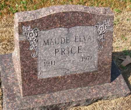 PRICE, MAUDE ELVA - Pulaski County, Arkansas   MAUDE ELVA PRICE - Arkansas Gravestone Photos