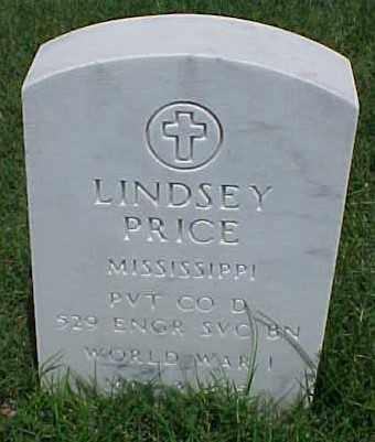 PRICE (VETERAN WWI), LINDSEY - Pulaski County, Arkansas | LINDSEY PRICE (VETERAN WWI) - Arkansas Gravestone Photos