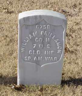 PRILLAMON (VETERAN SAW), WILLIAM - Pulaski County, Arkansas | WILLIAM PRILLAMON (VETERAN SAW) - Arkansas Gravestone Photos