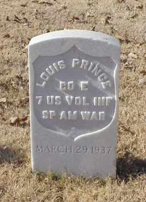 PRINCE (VETERAN SAW), LOUIS - Pulaski County, Arkansas | LOUIS PRINCE (VETERAN SAW) - Arkansas Gravestone Photos