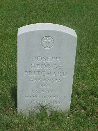 PRITCHARD (VETERAN WWI), JOSEPH GEORGE - Pulaski County, Arkansas | JOSEPH GEORGE PRITCHARD (VETERAN WWI) - Arkansas Gravestone Photos