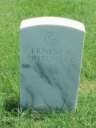 PRITCHARD (VETERAN WWII), ERNEST R - Pulaski County, Arkansas   ERNEST R PRITCHARD (VETERAN WWII) - Arkansas Gravestone Photos