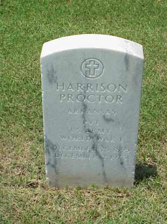 PROCTOR (VETERAN WWI), HARRISON - Pulaski County, Arkansas | HARRISON PROCTOR (VETERAN WWI) - Arkansas Gravestone Photos