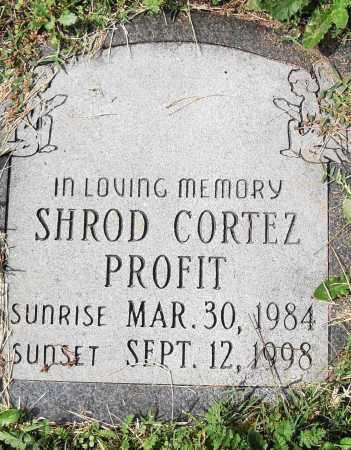 PROFIT, SHROD CORTEZ - Pulaski County, Arkansas   SHROD CORTEZ PROFIT - Arkansas Gravestone Photos