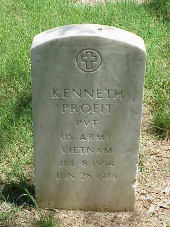 PROFIT (VETERAN VIET), KENNETH - Pulaski County, Arkansas | KENNETH PROFIT (VETERAN VIET) - Arkansas Gravestone Photos