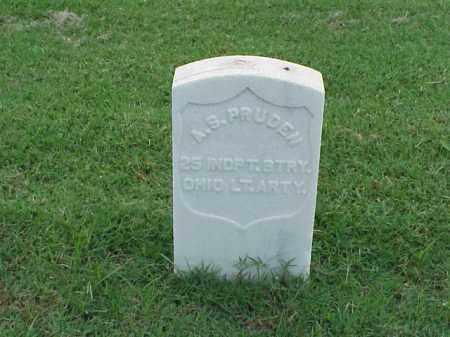 PRUDEN (VETERAN UNION), A S - Pulaski County, Arkansas   A S PRUDEN (VETERAN UNION) - Arkansas Gravestone Photos