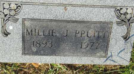 PRUITT, MILLIE J. - Pulaski County, Arkansas | MILLIE J. PRUITT - Arkansas Gravestone Photos