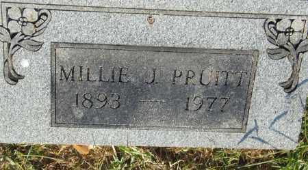 PRUITT, MILLIE J. - Pulaski County, Arkansas | MILLIE J. PRUITT - Arkansas Gravestone Photos