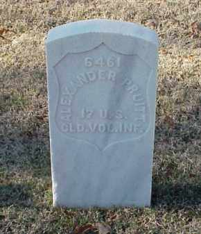 PRUITT (VETERAN UNION), ALEXANDER - Pulaski County, Arkansas | ALEXANDER PRUITT (VETERAN UNION) - Arkansas Gravestone Photos