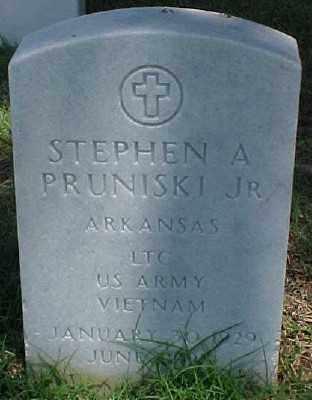 PRUNISKI JR (VETERAN VIET), STEPHEN A - Pulaski County, Arkansas   STEPHEN A PRUNISKI JR (VETERAN VIET) - Arkansas Gravestone Photos