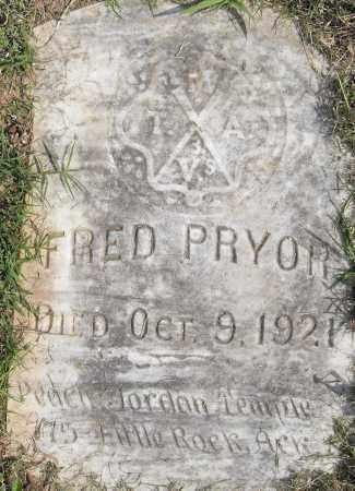PRYOR, FRED - Pulaski County, Arkansas | FRED PRYOR - Arkansas Gravestone Photos