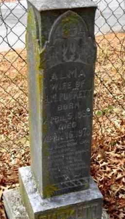 PUCKETT, ALMA - Pulaski County, Arkansas | ALMA PUCKETT - Arkansas Gravestone Photos