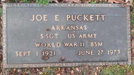 PUCKETT (VETERAN WWII), JOE GORDON - Pulaski County, Arkansas | JOE GORDON PUCKETT (VETERAN WWII) - Arkansas Gravestone Photos