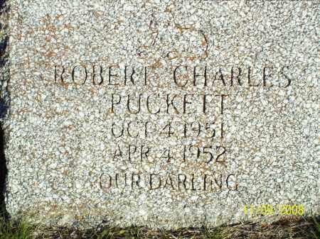 PUCKETT, ROBERT CHARLES - Pulaski County, Arkansas | ROBERT CHARLES PUCKETT - Arkansas Gravestone Photos
