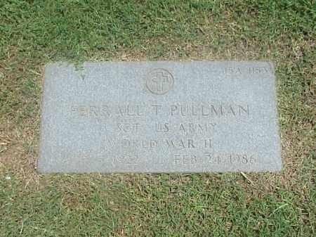 PULLMAN (VETERAN WWII), FERRALL T - Pulaski County, Arkansas | FERRALL T PULLMAN (VETERAN WWII) - Arkansas Gravestone Photos