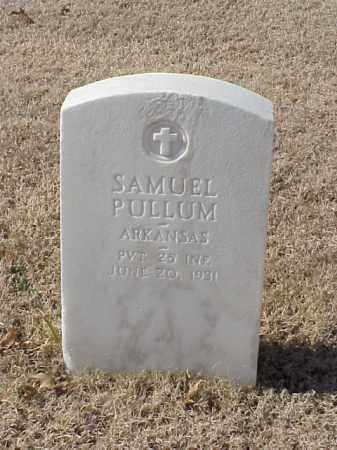 PULLUM (VETERAN WWI), SAMUEL - Pulaski County, Arkansas | SAMUEL PULLUM (VETERAN WWI) - Arkansas Gravestone Photos