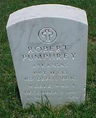 PUMPHREY (VETERAN WWI), ROBERT - Pulaski County, Arkansas | ROBERT PUMPHREY (VETERAN WWI) - Arkansas Gravestone Photos