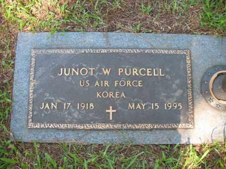 PURCELL (VETERAN KOR), JUNOT W - Pulaski County, Arkansas   JUNOT W PURCELL (VETERAN KOR) - Arkansas Gravestone Photos