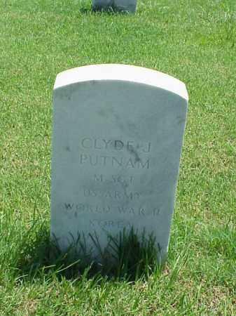 PUTNAM (VETERAN 2 WARS), CLYDE J - Pulaski County, Arkansas | CLYDE J PUTNAM (VETERAN 2 WARS) - Arkansas Gravestone Photos