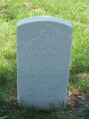 PYRON (VETERAN 2 WARS), LOUIS W - Pulaski County, Arkansas | LOUIS W PYRON (VETERAN 2 WARS) - Arkansas Gravestone Photos