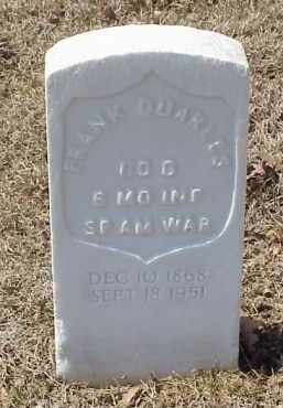 QUARLES  (VETERAN SAW), FRANK - Pulaski County, Arkansas | FRANK QUARLES  (VETERAN SAW) - Arkansas Gravestone Photos